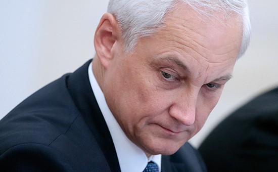 Помощник президента РФ Андрей Белоусов