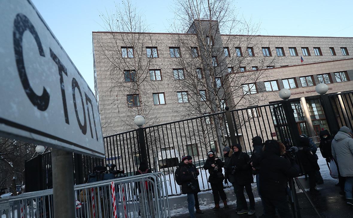 Вид на здание Бабушкинского районного суда