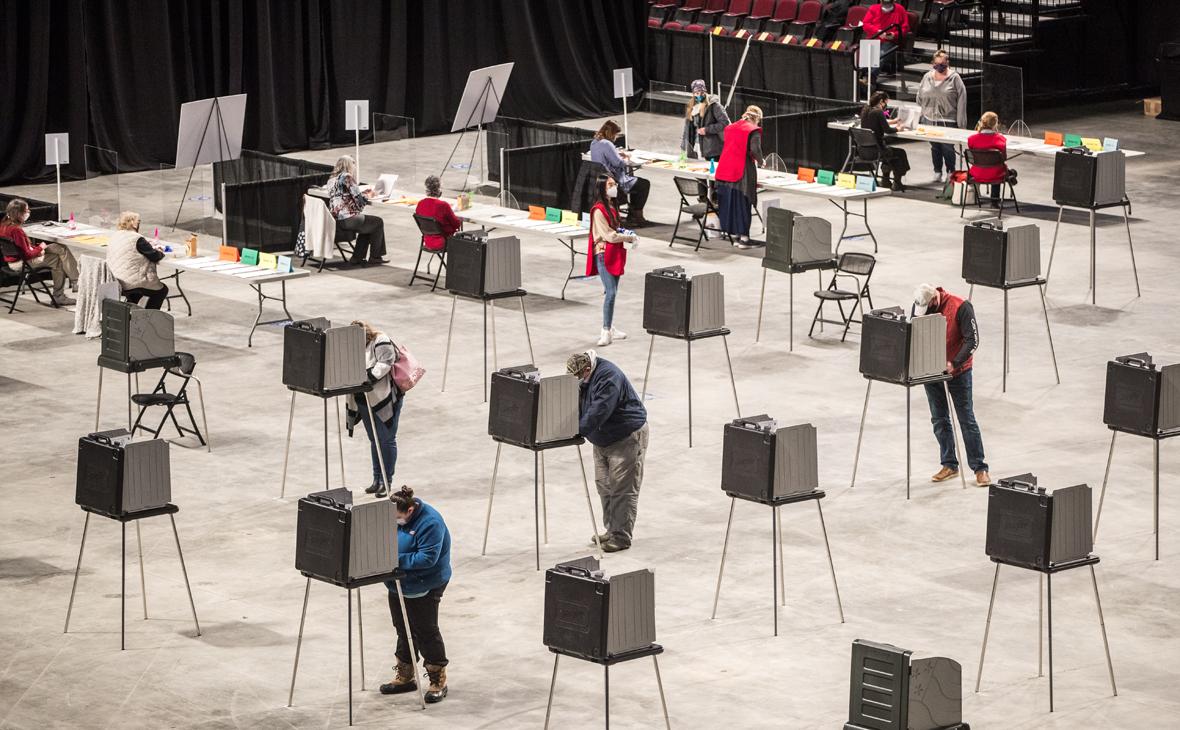 Голосование на выборах президента США