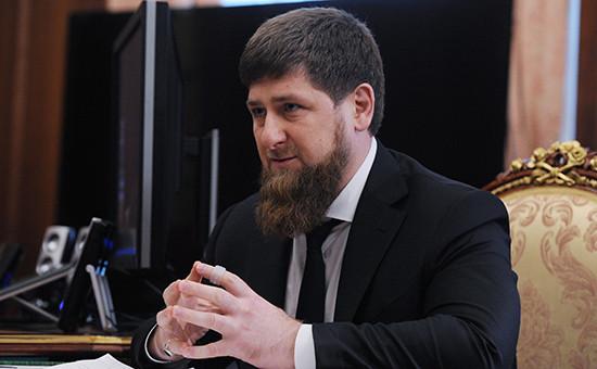 Временно исполняющий обязанности главы Чечни Рамзан Кадыров