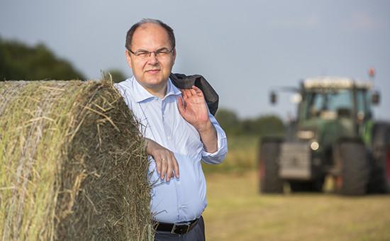 Министр сельского хозяйства ФРГ Кристиан Шмидт