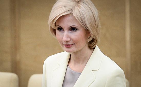 Председатель комитета Государственной Думы РФ по труду, социальной политике и делам ветеранов Ольга Баталина