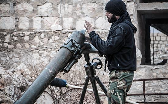 Сирийский повстанец врайоне Алеппо. Архивное фото