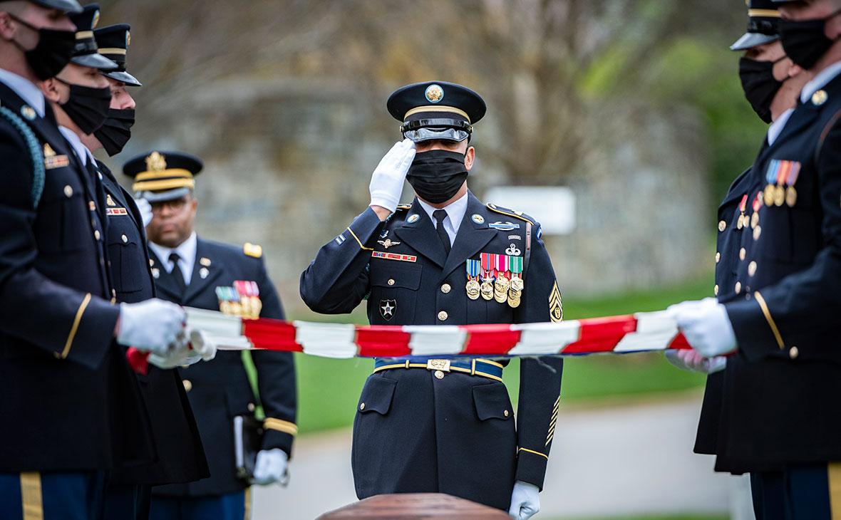 Фото: Elizabeth Fraser / U.S. Army / Arlington National Cemetery / Getty Images