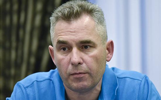 Уполномоченный при президенте РФ по правам ребенка Павел Астахов на пресс-брифинге в Симферополе