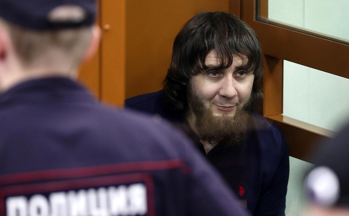 Заур Дадаевперед началом оглашения приговора в суде, 2017 год