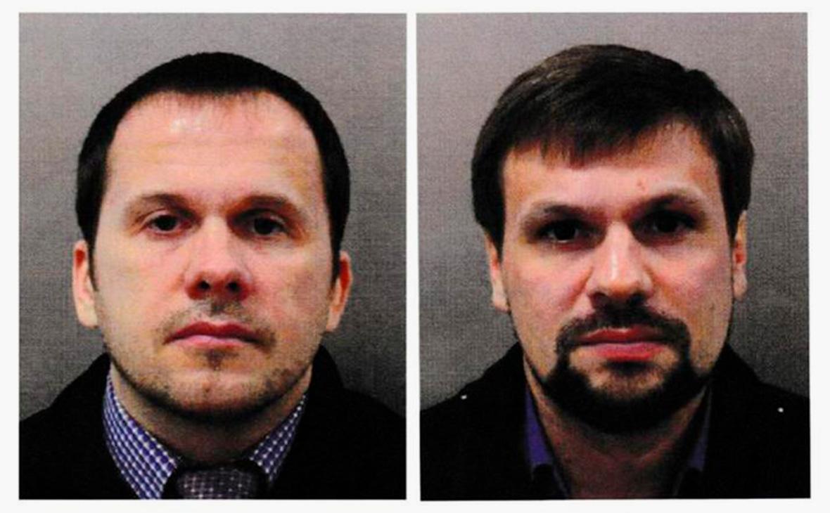 Александр Петров (слева) и Руслан Боширов