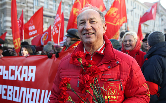 Первый секретарь московского городского комитета КПРФ, депутат Госдумы Валерий Рашкин