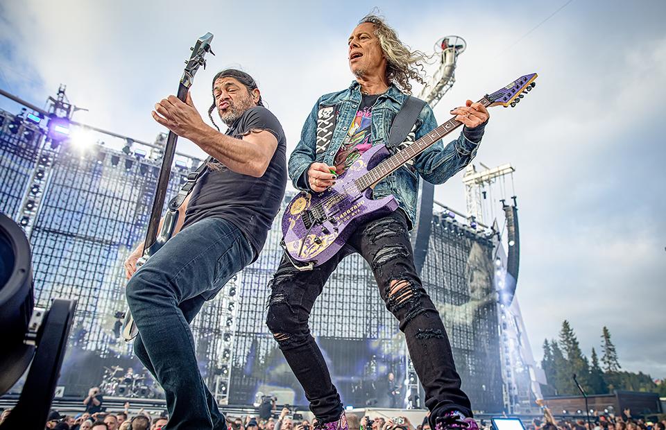Роберт Трухильо и Кирк Хэмметт,Metallica