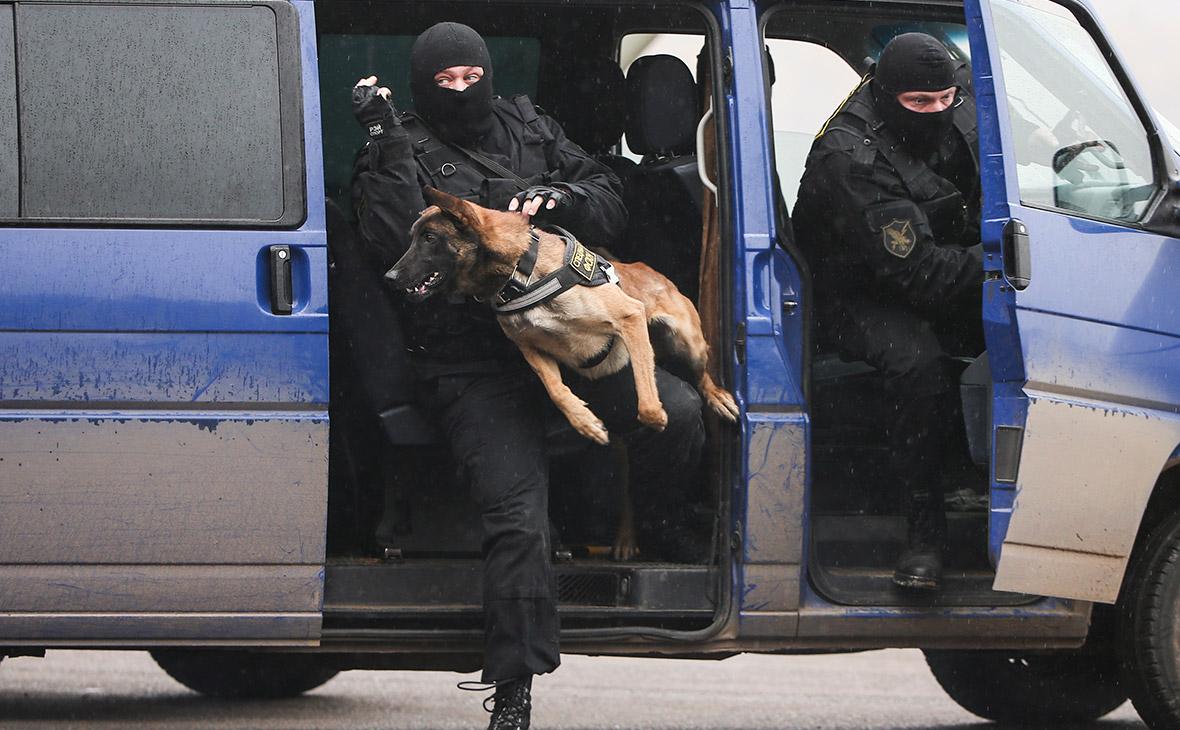 Сотрудники полиции. 2015 год
