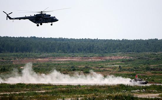 Вертолет Ми-8  Архивное фото