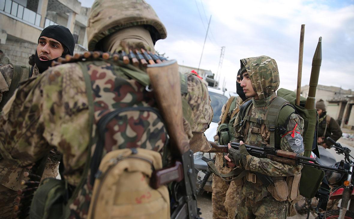 Поддерживаемые Турцией сирийские повстанцы