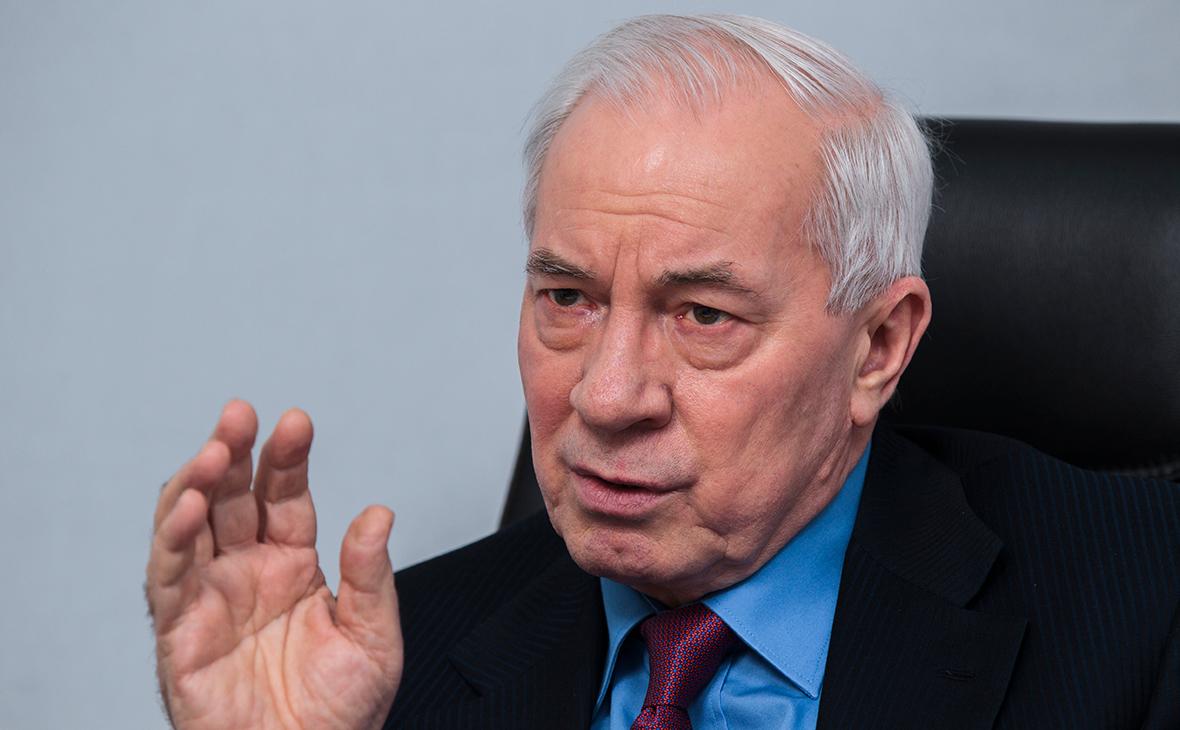 Азаров счел обвинения в госизмене попыткой Зеленского расправиться с ним