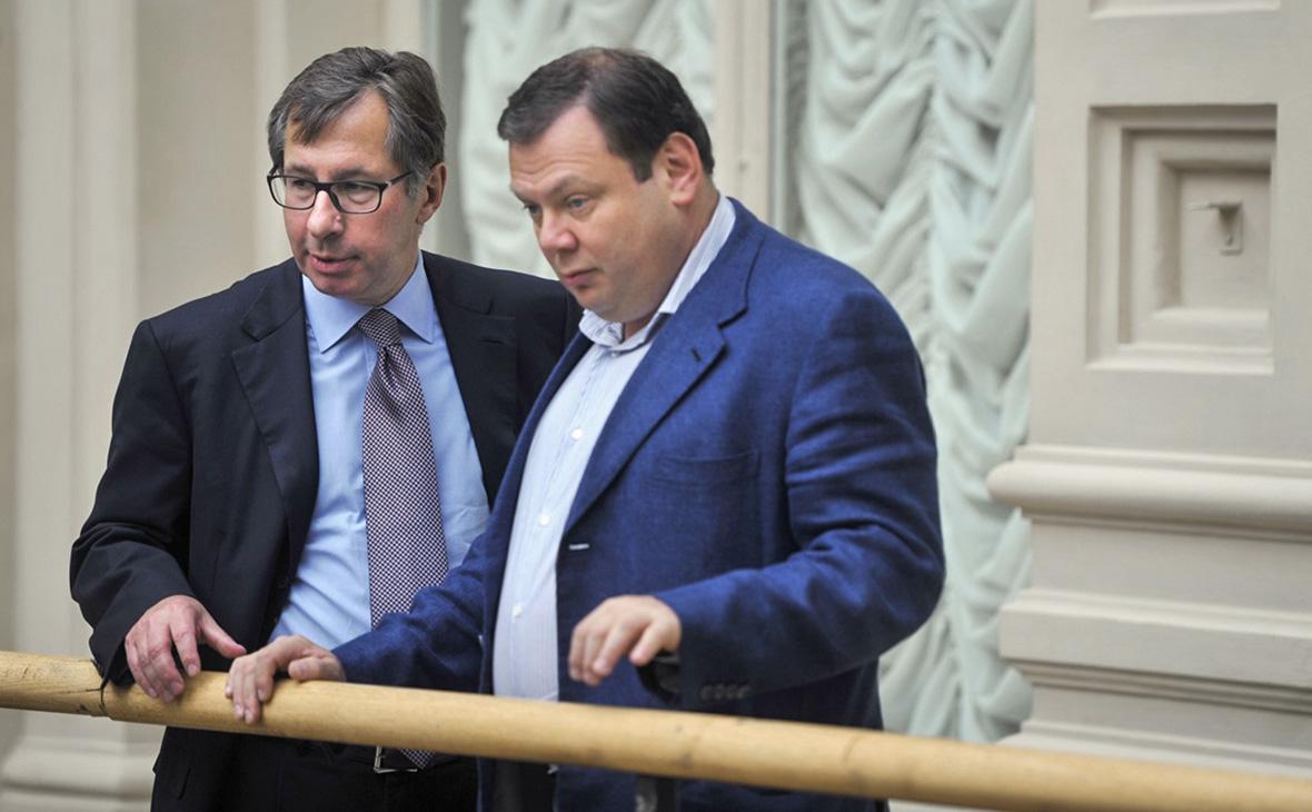 Петр Авен и Михаил Фридман (слева направо)