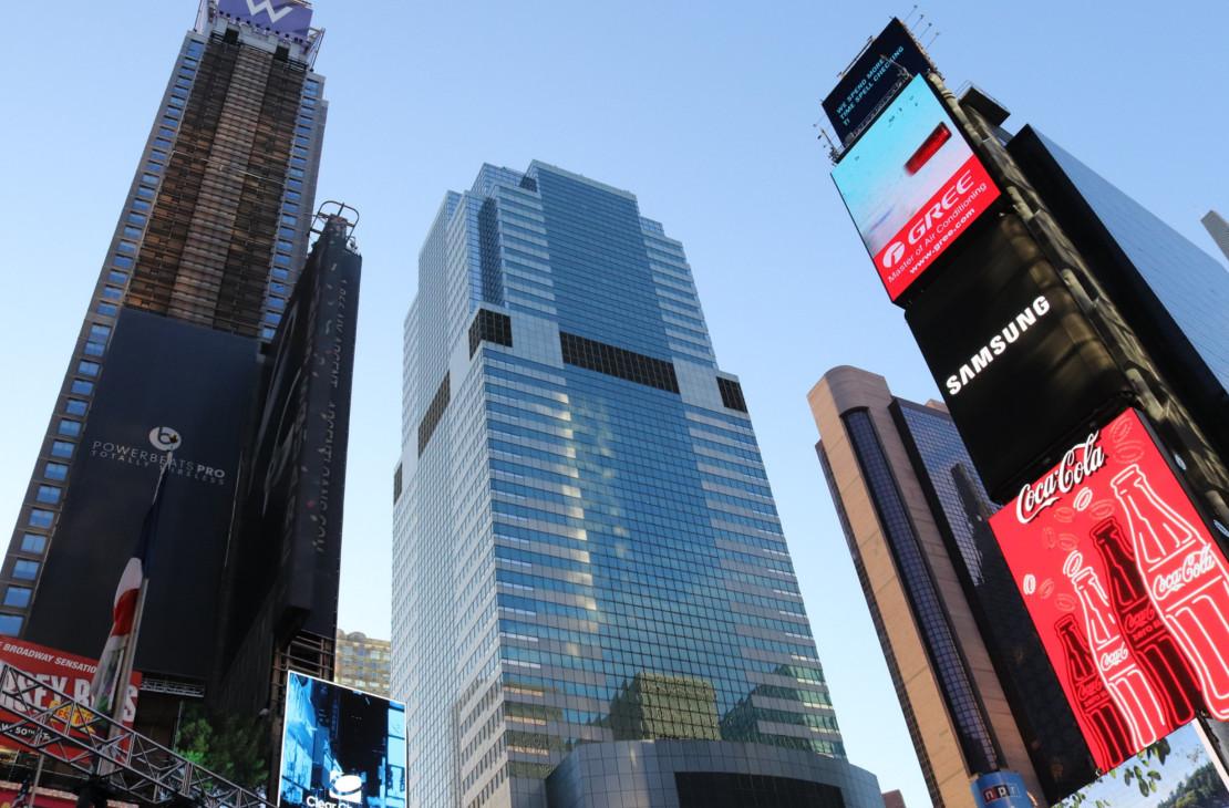 Площадь Таймс-сквер, Нью-Йорк, США