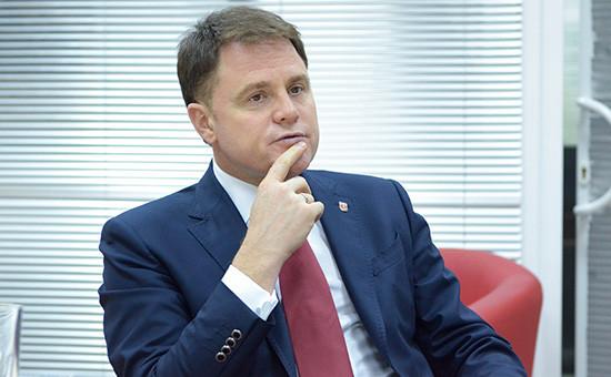 Губернатор Тульской области, создатель торговой сети «Седьмой континент» Владимир Груздев