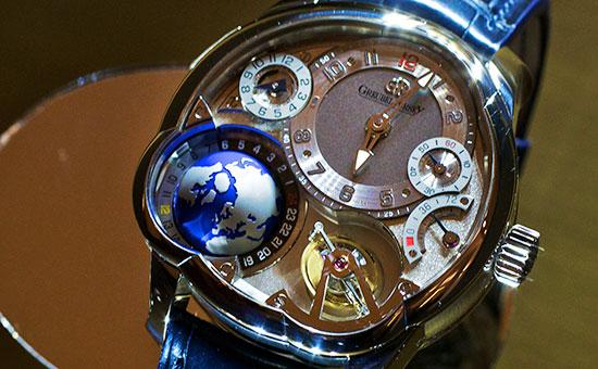 Часы марки Greubel Forsey. Архивное фото