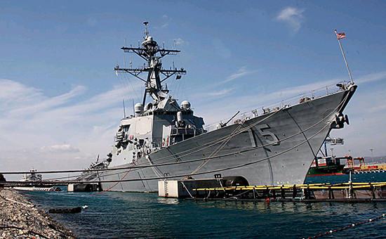 Ракетный эсминец ВМС США «Дональд Кук», фото 2006года  