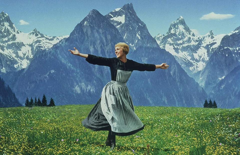 Кадр из фильма «Звуки музыки»