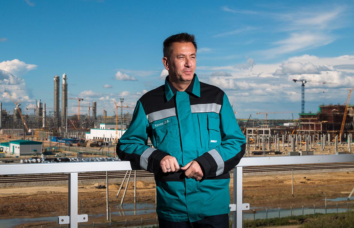 Председатель правления «Сибур Холдинга» Дмитрий Конов