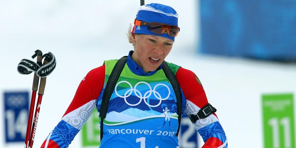 Олимпийская чемпионка по биатлону Ольга Зайцева