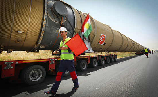 Нефтепровод. Курдистан