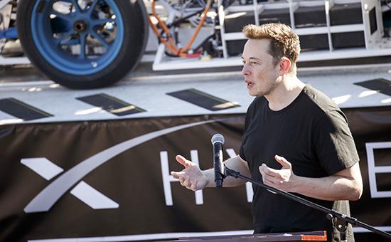 ОсновательSpaceX Илон Маск