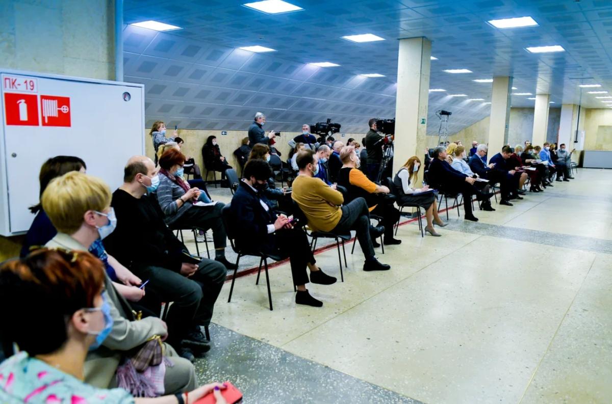 Дёмкин: «Итоговых решений по застройке территории у «Молота» не принято»