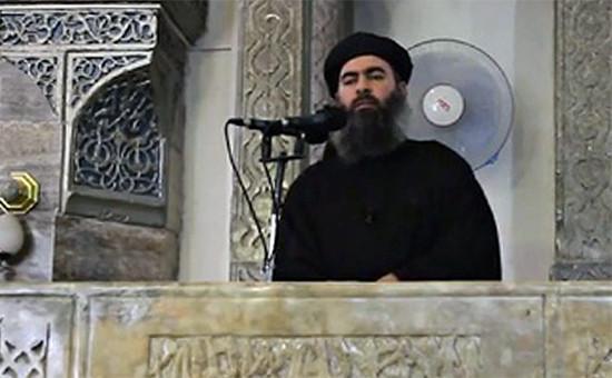 Лидер группировки «Исламское государство» (организация запрещена в России) Абу Бакраль-Багдади