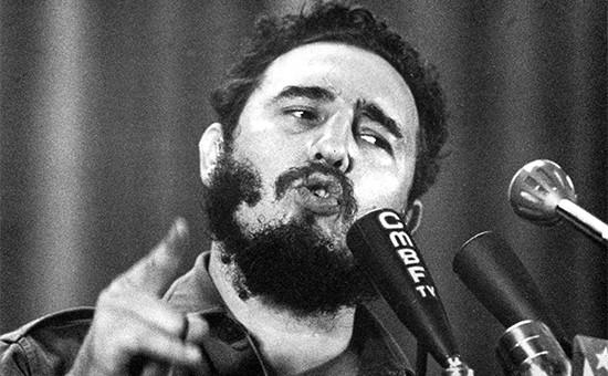 Лидер кубинской революции Фидель Кастро. 1960 год