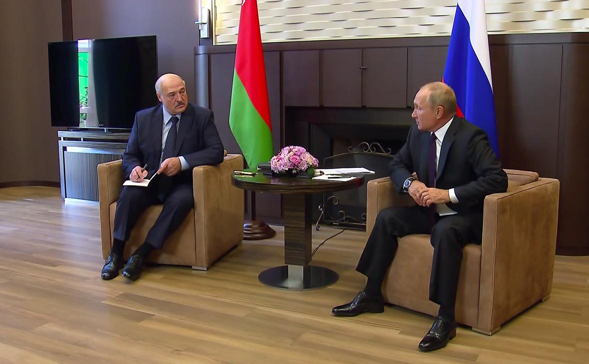 МИД Белоруссии рассказал о темах переговоров Путина и Лукашенко