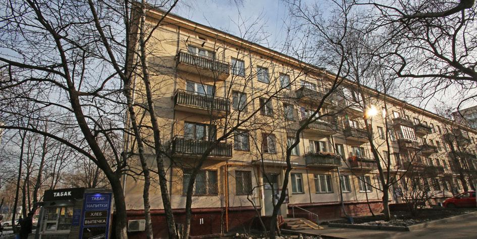 Московские пятиэтажки