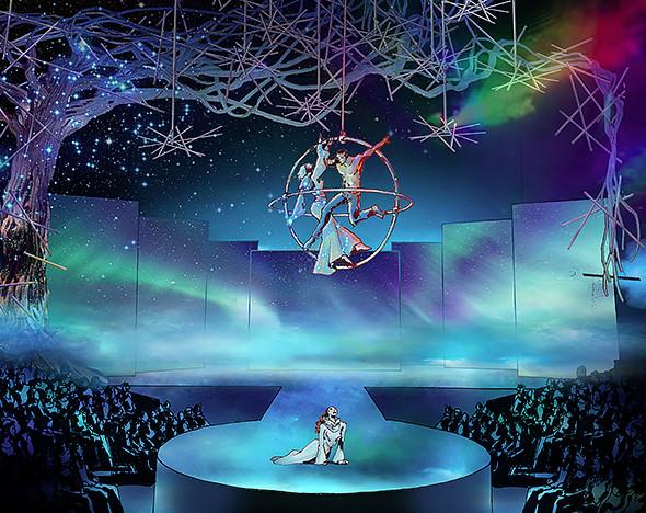 Фото: пресс-материалы шоу Cirque du Soleil; Фернана