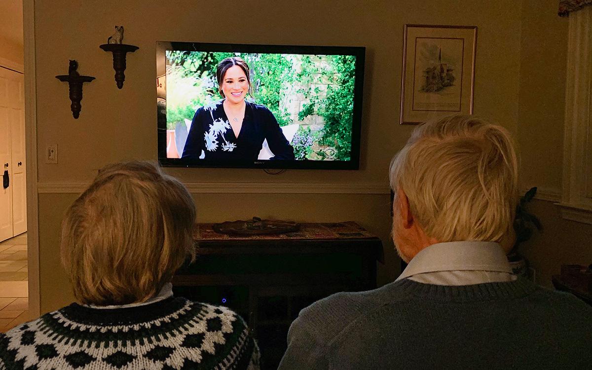 Интервью британского принца Гарри и его жены Меган Маркл телеведущей Опре Уинфри