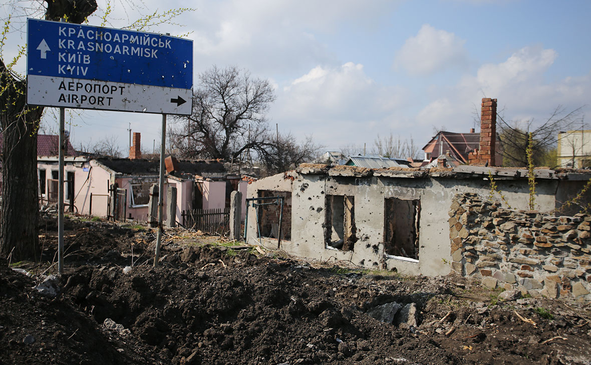 Донецк, Украина. Апрель 2017 года