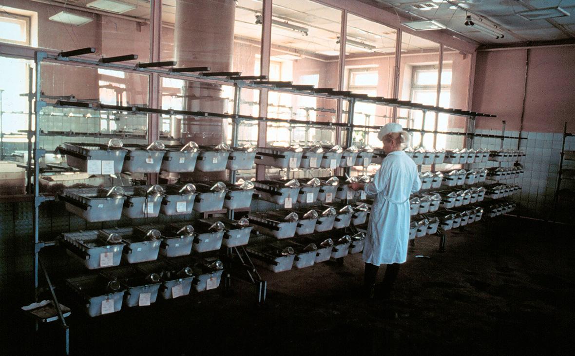 Исследовательская база в закрытом городе Шиханы под Саратовом