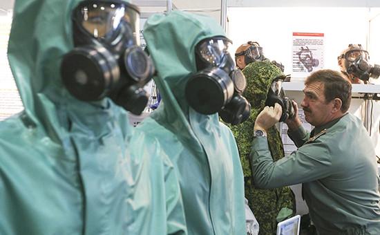 Средства индивидуальной химической защиты намеждународной выставке «Интерполитех-2015»