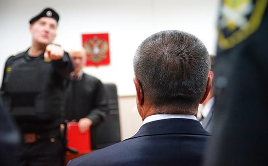 Алексей Улюкаев в Басманном суде.15 ноября 2016 года