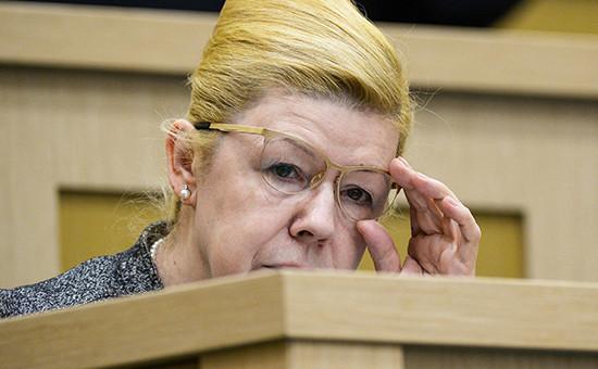 Заместитель председателя комитета Совета Федерации поконституционному законодательству игосударственному строительству Елена Мизулина