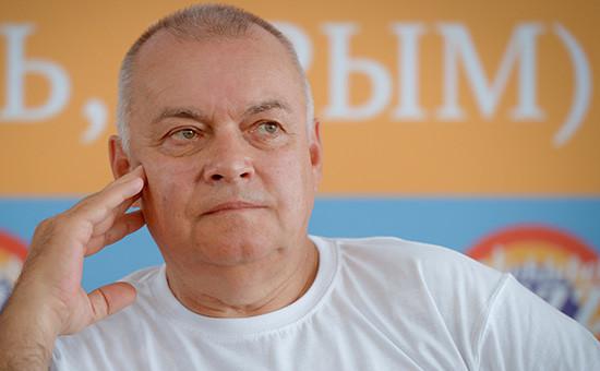 Телеведущий Дмитрий Киселев