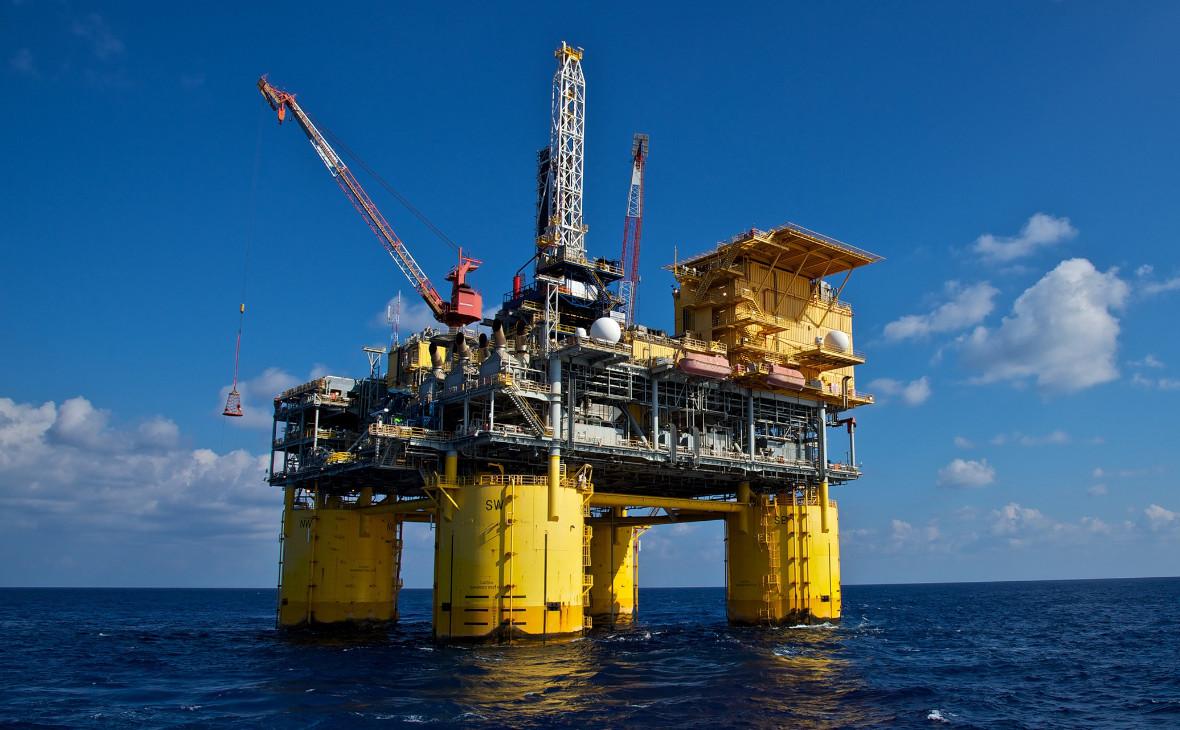 Нефтяная платформа ConocoPhillips вМексиканском заливе