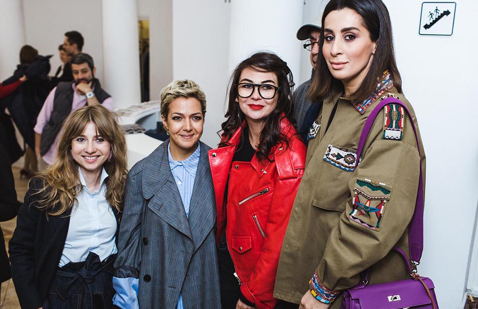 Кристина Краснянская, Ксения Чилингарова, Елизавета Молчанова и Зоя Иванова