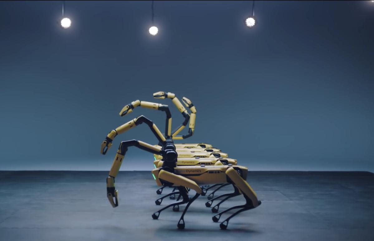 Фото:  Boston Dynamics / YouTube
