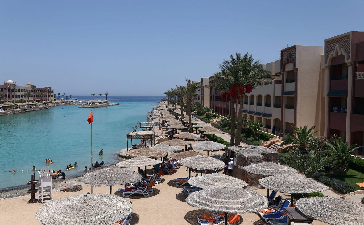 Пляж отеля Sunny Days El Palacio вХургаде