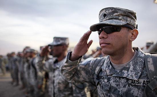 Солдаты армии США в Ираке