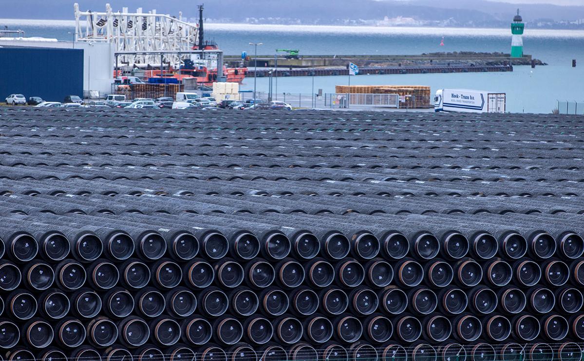 Cтроительство газопровода «Северный поток-2»