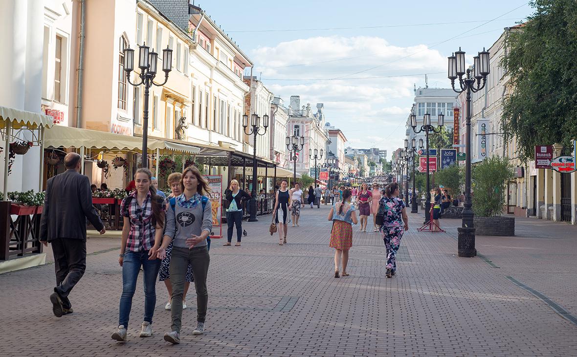 Большая Покровская улица вНижнем Новгороде