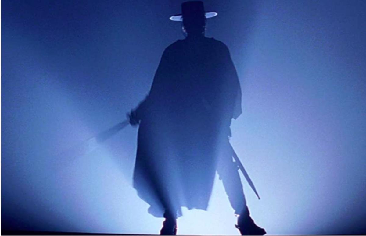 Кадр из фильма «Маска Зорро»