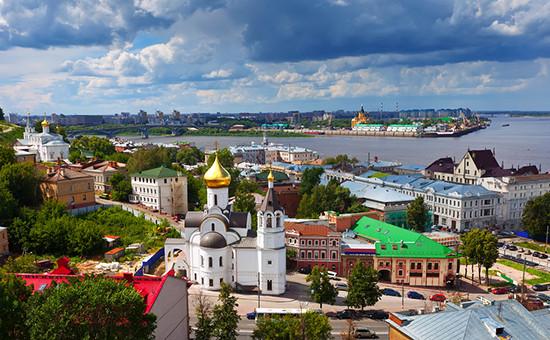 Вид наНижний Новгород