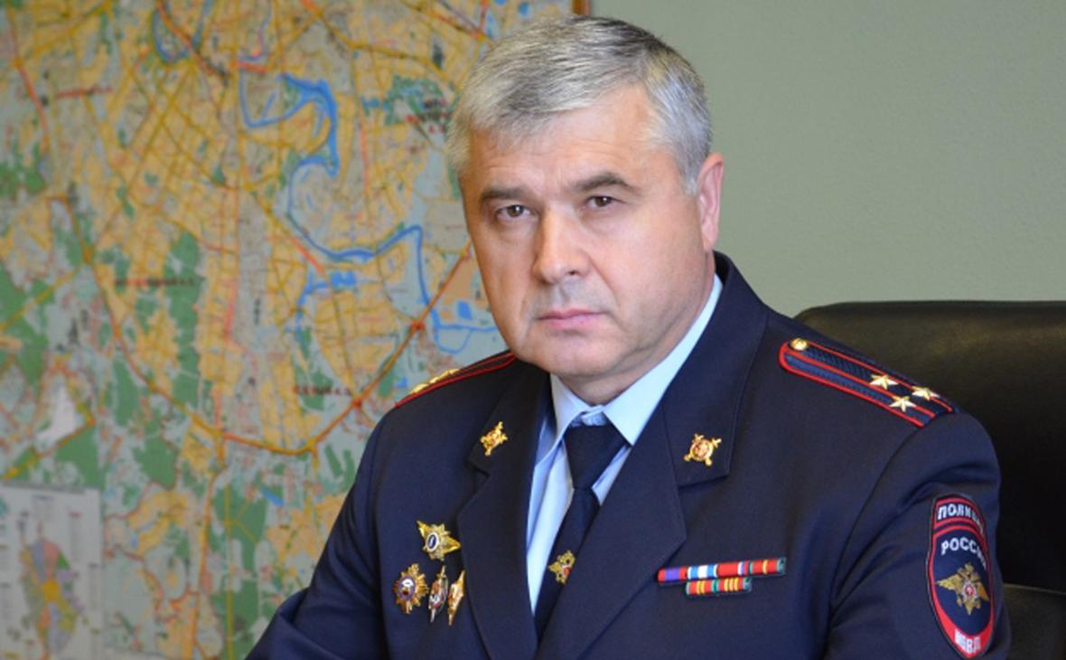 ТАСС сообщил об увольнении главы ГИБДД Москвы